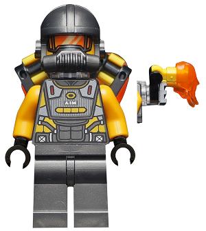 Custom AIM Agent Marvel Universe Minifigure on lego bricks