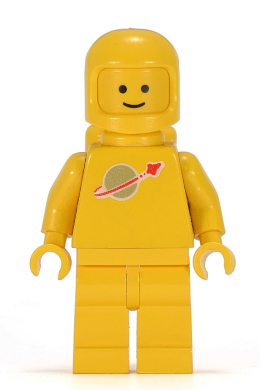 Airtank Set 495 1593 6783  SG LEGO Figur Space Classic Astronaut sp005 rot