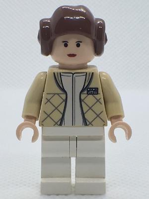 LEGO Star Wars Princess Leia Minifig in Hoth Gear