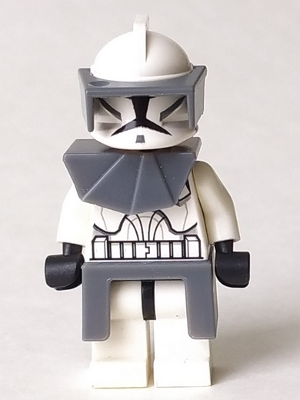 Armor Pauldron Plastic NEW clone trooper Star Wars LEGO x 4 Black Minifig