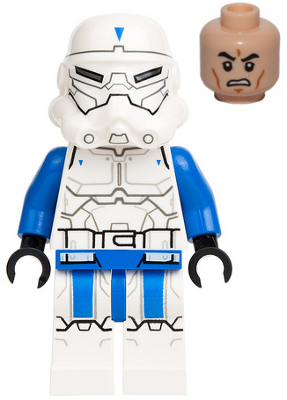 Lego Star Wars Special Forces Commander minifigure