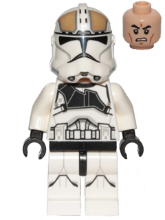 Lego Clone Trooper Gunner 75182 Expanded Universe Star Wars Minifigure