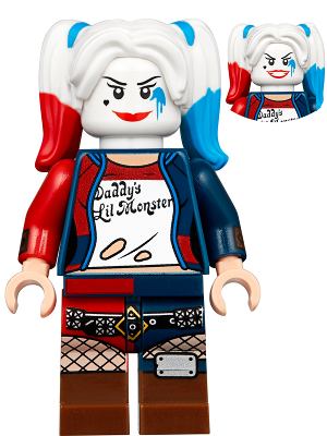 Bricklink Minifig Tlm134 Lego Harley Quinn Apocalypseburg The Lego Movie 2 Bricklink Reference Catalog