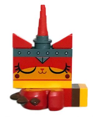 Bricklink Minifig Tlm147 Lego Unikitty Warrior Kitty Sleeping