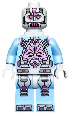 LEGO TMNT The Kraang Medium Blue Exo-suit Body Minifigure