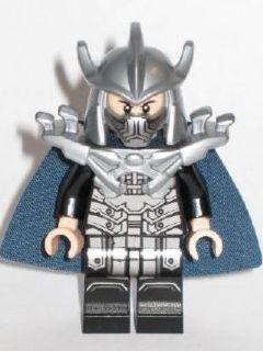 Bricklink Minifig Tnt052 Lego Shredder Dark Blue Cape And