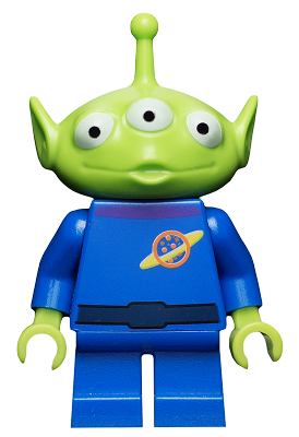 Bricklink Minifig Toy006 Lego Alien Toy Story Bricklink