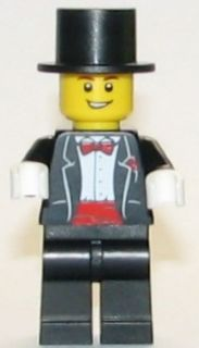 BrickLink - Minifig twn144 : Lego Groom with Top Hat