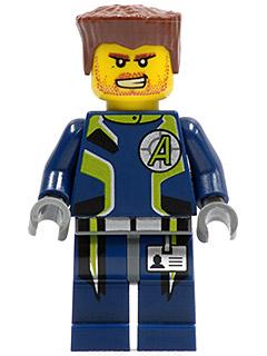 Lego Minifigure Agents ~ Dr D Zaster Villain