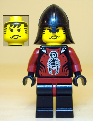 Lego Dark Red Torso Castle Knights Kingdom II with Scorpion Pattern NEW