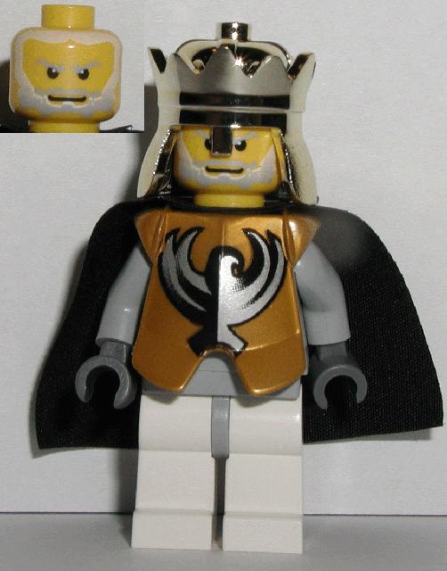 Lego Sir Jayko Minifig Lot castle figure light blue knights kingdom II