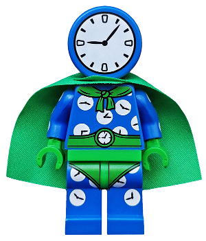 Genuine Lego Minifigures CLOCK KING from BATMAN 2 series