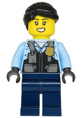 Rooky Partnur 60268 cty1208 City Minifigs LEGO®
