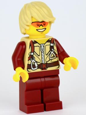 Minifigures Dino Fedora dino005 Hero Lego