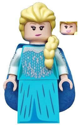 Figurka LEGO Elsa zepředu