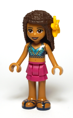 New frnd208 Lego Friends Mini figure Andrea
