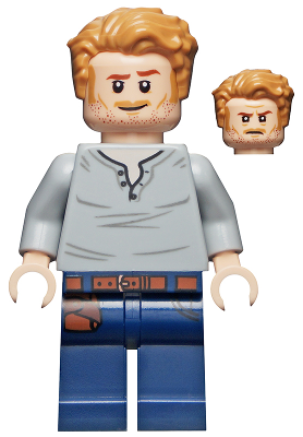Lego jurassic world owen grady: figurine polybag-set 75935 75934 jw023
