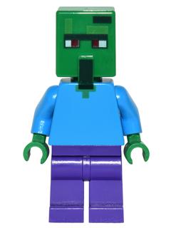 Bricklink Minifig Min030 Lego Zombie Villager Minecraft
