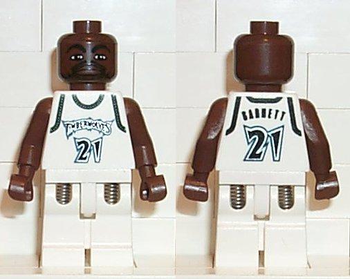 Lego Minifigure NBA player Number 2 nba028 Sports // Basketball Minifig 2003 G
