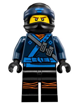 Lego Jay Ninjago the Movie Minifigur Minifig njo313 Ninja Neu