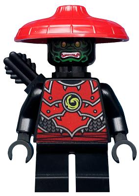 Minifigs-Ninjago-njo580-STONE ARMY SCOUT 71702 Lego ®