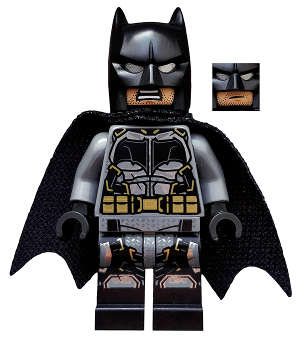 Batman Battle Ready Tyre Armour DC Comic Super Hero Custom Lego Mini Figure Toy