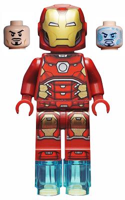 76131 minifigs-Super Heroes-sh573-Iron Man LEGO ®