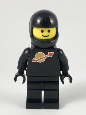 Lego 2x Torso with Space Classic Helmet Pattern NEW!!!