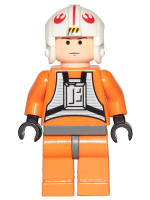 new LEGO Star Wars Minifig 2007-2008 Luke Skywalker