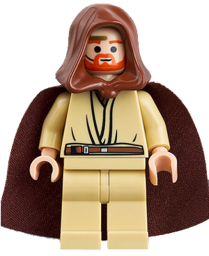 with Cape from set 75246 Lego Star Wars Obi-Wan Kenobi minifigure 2019