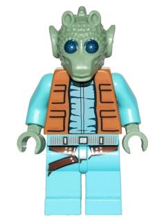 Lego Star Wars Santa Greedo As Shown  SW#80