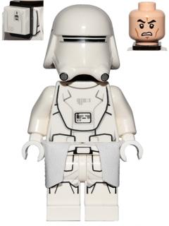 Lego Minifigure Star Wars SW0875  First Order Snow Trooper