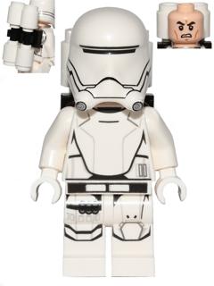 Figurka LEGO Plamenometčík prvního řádu zepředu