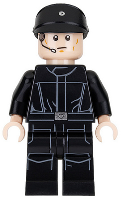Lego star wars personnage sw802 Imperial navette pilote 75163 75221