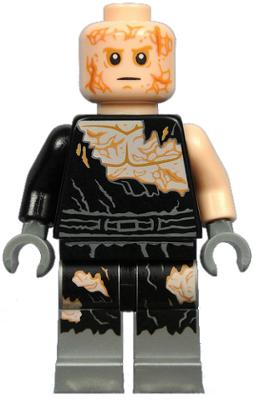 Figurka LEGO Anakin popálený zepředu