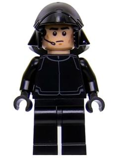 Figurka LEGO Pilot prvního řádu zepředu