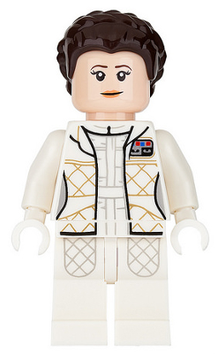 sw0972 Lego Figure Princess Leia Bespin Outfit