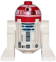 Figurka LEGO Droid R3-T2 zepředu