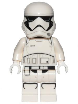 Figurka LEGO Stormtrooper prvního řádu zepředu
