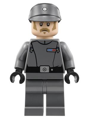 Figurka LEGO Kapitán impéria zepředu