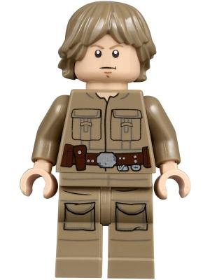 Tan Dark 75159 Classic Luke Skywalker Figure Hair Male NEW LEGO