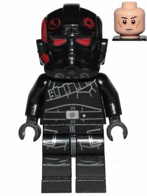 Figurka LEGO Inferno Squad Agent zamračený zepředu