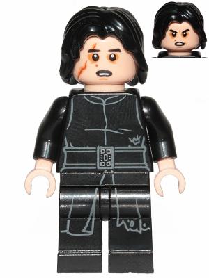 Figurka LEGO Kylo Ren s jizvou zepředu