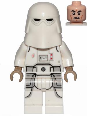 Figurka LEGO Snowtrooper zepředu