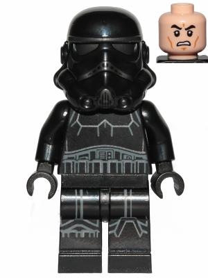Figurka LEGO Shadow Trooper zepředu