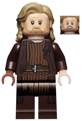 Figurka LEGO Starší Luke Skywalker zepředu