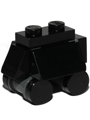 LEGO STAR WARS MOUSE DROID BLACK//DARK BLUISH GREY,OPEN STUDS WHEELS FIGURE NEW