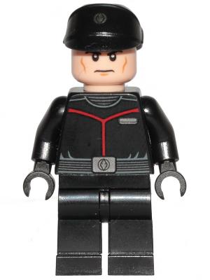 Figurka LEGO Důstojník Sith flotily zepředu