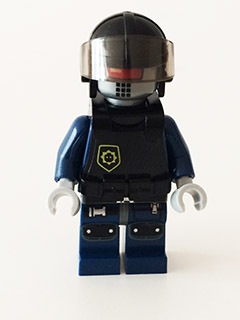 #70815 TLM079 Robo SWAT w//Knit Cap - NEW The LEGO Movie