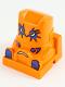 Minifig No: 30599pb04  Name: Spiky